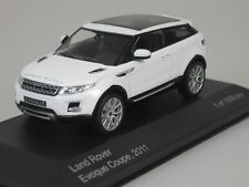 Land Rover Evoque coupe 2011 Blanco 1/43 WHITEBOX wb227 NUEVO