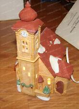 Heritage Village, Alpine Church (Dept 56, 6541-2) 1987, Clock Tower