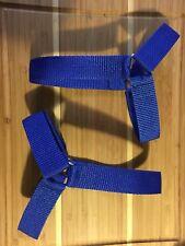 Roller Derby Jam Straps/ Skate Straps ROYAL BLUE