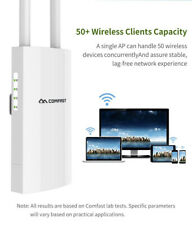 300Mbps WiFi Router Booster Signal Extender HighPower Repeater 2.4Ghz Outdoor AP