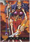 1995 FLEER ULTRA SKELETON WARRIORS LUMA BONE: SHRIEK #4 GLOW IN THE DARK INSERT