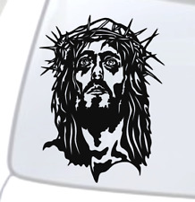 cad cut seal amulet Vinyl Sticker Decal Jesus heart 001