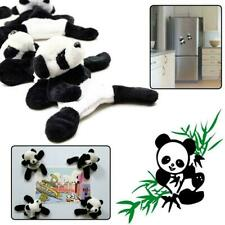 Cute Soft Plush Panda Fridge Magnet Refrigerator Sticker Supe Souvenir Gift Y8H5