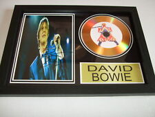 david bowie SIGNED  GOLD CD  DISC  1