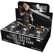Final Fantasy TCG FFTCG Opus IV #4  Booster Box SEALED!!^