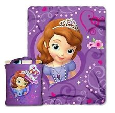 Disney Sofia The First - Silk Touch Throw w/ Tote Authentic Licensed Brand New