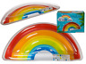 JUMBO QUALITY FUNKY RAINBOW INFLATABLE NOVELTY SWIM POOL FLOAT RAFT LILO LOUNGER