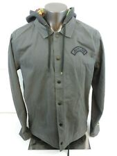 YOUNG MENS HURLEY CASUAL COTTON JACKET XL NWOT FRESH PRINCE NEON RETRO COLORWAY