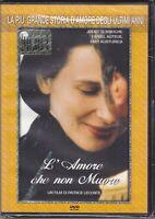 Dvd L'AMORE CHE NON MUORE con Juliette Binoche Emir Kusturica nuovo 2000