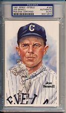 Perez Steele Postcard #163 Joe Sewell - Cleveland Indians - PSA/DNA