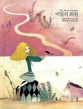The Secret Garden Korean Book Hard Cover Illustration Korea Fairy Tale Illust