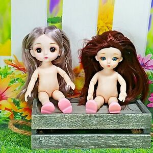 Doll Girl 5'' Moveable Jointed 1/8 Surprise Blyth Dolls, Dolls, BJD Toys