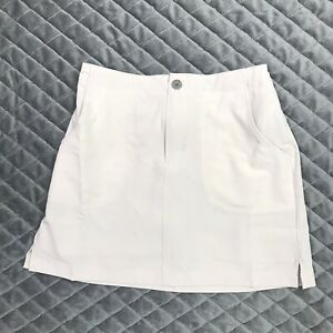 White Sierra Youth Girls Small West Loop Trail Stretch Skort Taupe Tan New