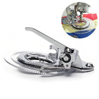 Multifunctional flower stitch circle embroidery presser foot for sewing machi EO