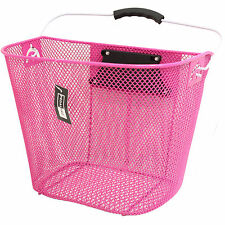 Pink Bicycle Baskets