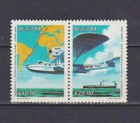 S19124) Brasilien Brazil MNH Neu 1984 Germany-Brazil Connection 2v