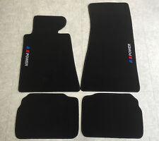 Autoteppiche Fußmatten für BMW E34  5er Lim. Touring 3farbig 4teilg Velours Neu