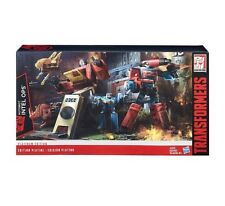 Transformers Generations Platinum Edition Intel Ops Blaster And Preceptor