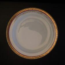 2 assiettes dessert céramique porcelaine XIXe art nouveau GIRAUD Limoges France