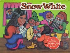 Snow White Pop-Up Book All Action Brown Watson Pop Up