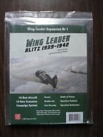 Wing Leader Blitz 1939-1942 expansion set by GMT Games 2018 mint