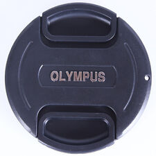 77 mm Snap On Front Lens Cap Cover Center Pinch with String for Olympus Camera
