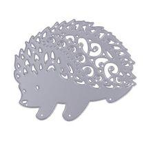 Hedgehog Cutting Dies DIY Album Scrapbook Card Decor