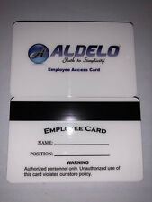 Aldelo Adelo Pos Employee Id Magnetic Swipe Cards (50 Pack) High Quality Cards