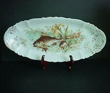 Moritz Zdekauer Habsburg Austria Fish Platter Antique 1800's Very Large