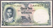 Thailand 1 Baht 1953 unc minor foxing