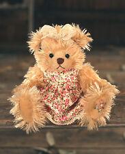 Teddy Bear 'Leonie' Settler Bears Handmade Dress Collectable Gift 20cms NEW