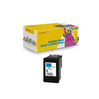 Compatible Black Ink Cartridge for HP74XL Deskjet D4200 Officejet J5700 C4200