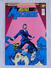 Justice League No. 11 Nov. 1987 Comico The Comic Company First Printing NM (9.4)