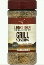 2 PACK Longhorn's Grill Steak Spice Kitchen Seasoning 6 oz