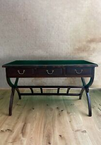 Chinesischer Schreibtisch Rattan (135cm) Ulmenholz Tisch China - AsienLifeStyle