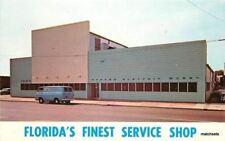 1960s Advertising Florida Service Shop Van Munn Dexter postcard 6321
