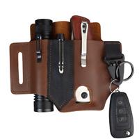 Handmade Multitool Genuine Leather Sheath EDC Pocket Organizer Tool Holder