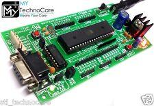 ATMEL 8051 Development Board+MAX232&89S52 Microcontroller IC Project Kit LowCost