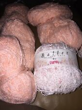 MIXED BATCH OF DOUBLE KNITTING YARN, WENDY Ballet X 3 50g 5 X Unknown Pink