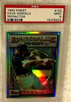 DAVE WINFIELD 1993 TOPPS FINEST REFRACTOR #162 PSA 9 MINT VERY RARE TWINS