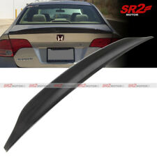 Duck Tail Trunk Spoiler Wing Glossy Black fits for 06-11 Honda Civic 4DR Sedan