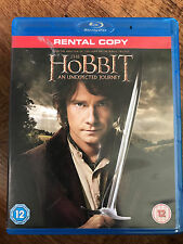 THE HOBBIT: AN UNEXPECTED JOURNEY ~ 2012 Peter Jackson Tolkein Epic UK Blu-ray