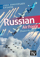 Zhukovsky 100th Anniversary Airshow 2012 DVD Aircraft Aviation Russian Air Force