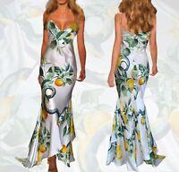 GORGEOUS!!! Roberto Cavalli ITALY silk dress size M 42-44  $1529.00 OFF!