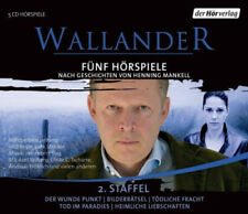 Henning Mankell|Wallander. Fünf Hörspiele, 5 Audio-CDs (Wallander Box 2)|Hörbuch