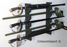 CS SPADA Rack progettati per 1908 CAVALLERIA Sabres HAND MADE UK