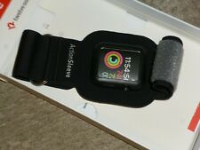 Twelve South Adjustable Sports Action Sleeve/ Armband 38mm Apple Watch Black
