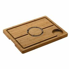 Grunwerg Medium Size Deluxe Bamboo Carving Board 40cm L X 28cm W