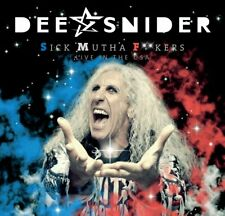 Dee Snider - S.M.F. - Sick Mutha F**kers: Live In The USA (2018)  CD  NEW/SEALED