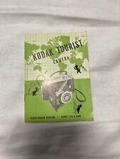 Kodak Tourist Camera 1949 Camera Instruction Book / Manual / User Guide L3